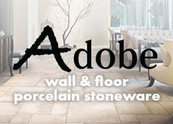Adobe wall & floor porcelain stoneware
