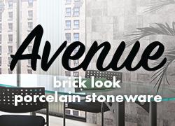 Avenue brick look porcelain stoneware