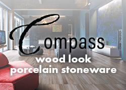 Compass wood look porcelain stoneware