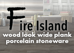 Fire Island wood look wide plank porcelain stoneware