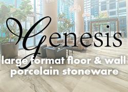 Genesis large format floor & wall porcelain stoneware