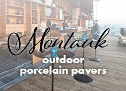 Montauk outdoor porcelain pavers